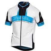 Camisa Ciclismo Spiuk Performance Branca Azul
