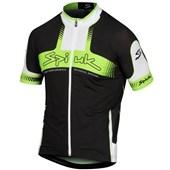 Camisa Ciclismo Spiuk Performance Preta Verde