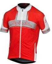Camisa Ciclismo Spiuk Performance Vermelha Cinza