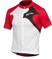 Camisa Ciclismo Spiuk Race Branca Vermelha
