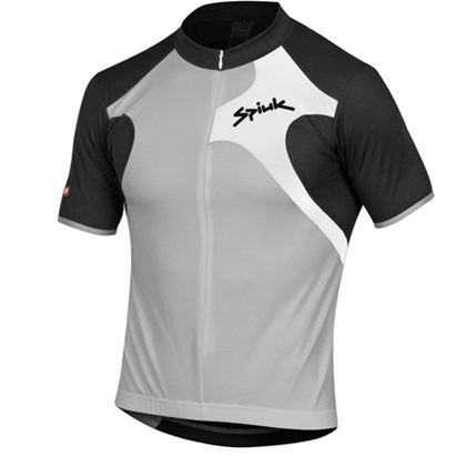 Camisa Ciclismo Spiuk Race Cinza Preta