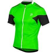Camisa Ciclismo Spiuk Team Masculina Verde Preta