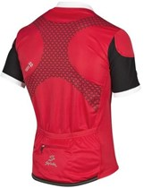 Camisa Ciclismo Spiuk Team Masculina Vermelha Preta