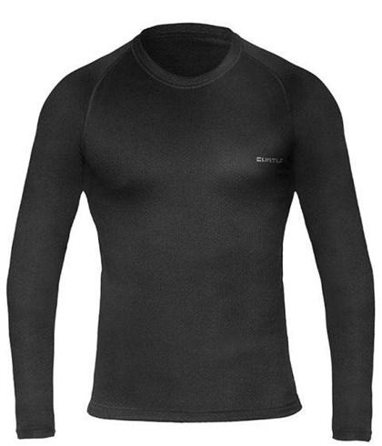 Camisa Segunda Pele Manga Longa Curtlo ThermoSkin Frio Intenso Preta