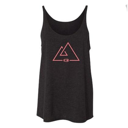 Camiseta Casual Feminina Crank Brothers Horizon Preta