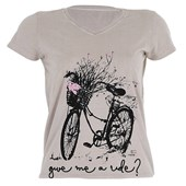 Camiseta Marcio May Feminina Give Me Ride