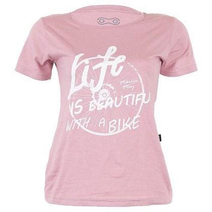 Camiseta Marcio May Feminina Life Is Beautiful
