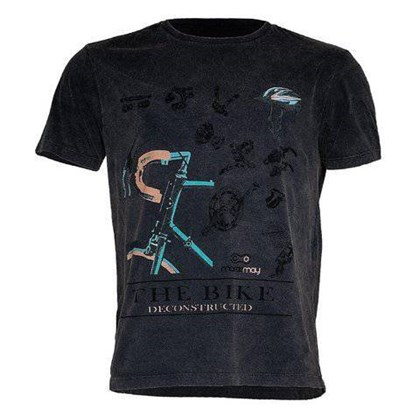 Camiseta Marcio May Masculina The Bike Deconstructed