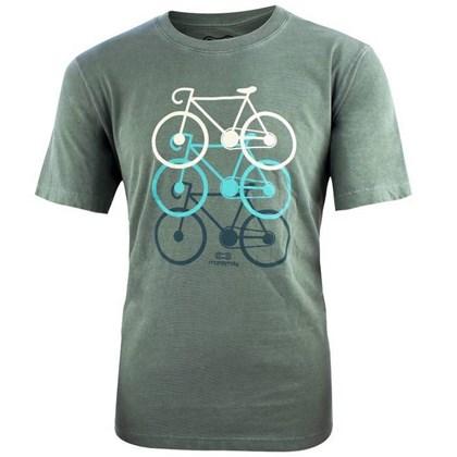 Camiseta Marcio May Verde Bicicletas
