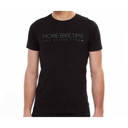 Camiseta Masculina More Bike Time Preta