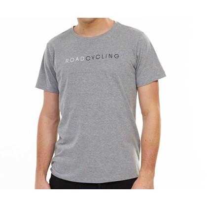 Camiseta Masculina RoadCycling Cinza