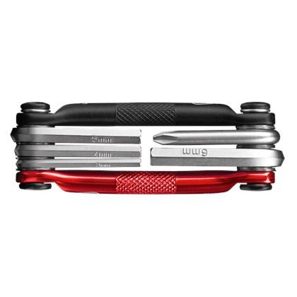Canivete de Ferramentas Crank Brothers Multi 5 Preta e Vermelha