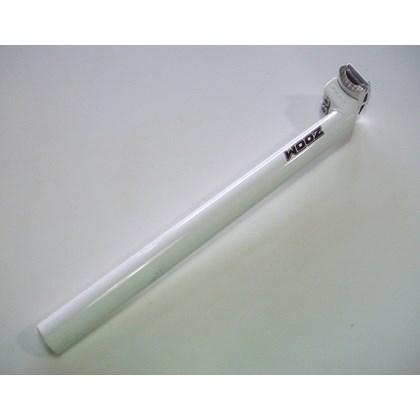 Canote de Selim ZOOM 26.8 x 350mm Alumínio Branco