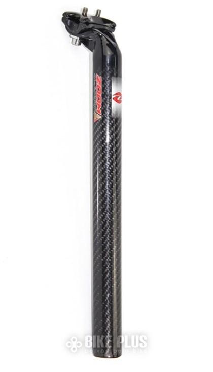 Canote de Selim ZOOM 31.6 x 350mm Alumínio + Carbono
