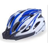 Capacete Bike Absolute WT012 Branco e Azul