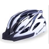 Capacete Bike Absolute WT012 Branco e Preto