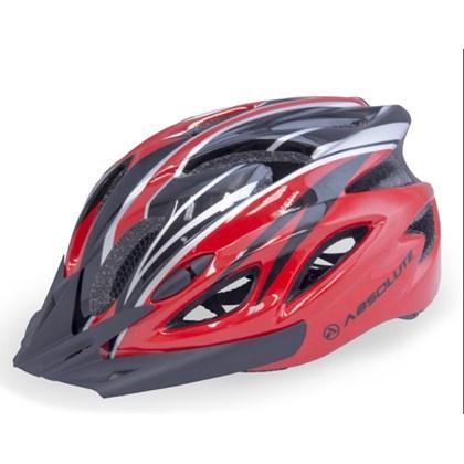 Capacete Bike Absolute WT012 Vermelho e Preto