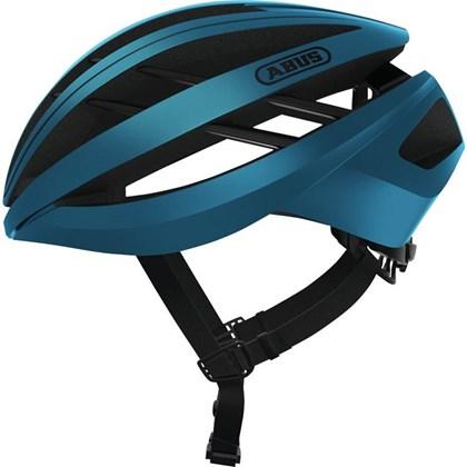 Capacete Bike Abus Aventor Azul Fosco