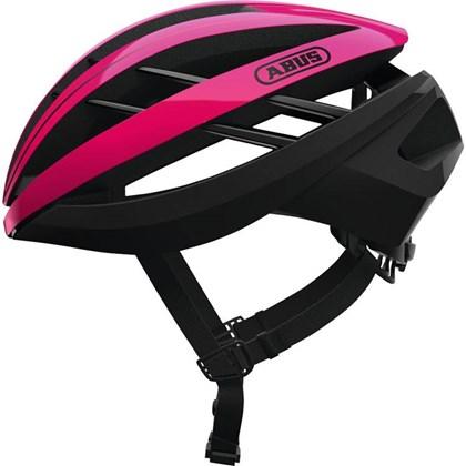 Capacete Bike Abus Aventor Rosa e Preto