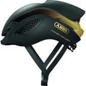 Capacete Bike Abus Gamechanger Preto e Dourado