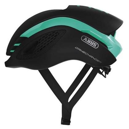 Capacete Bike Abus Gamechanger Verde Celeste