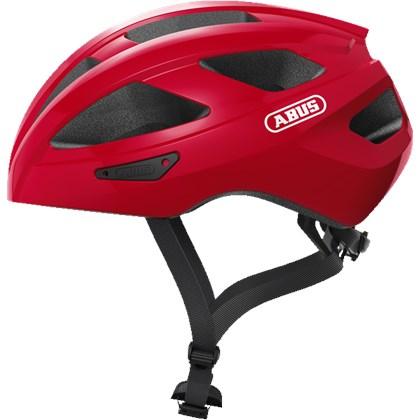 Capacete Bike Abus Macator Vermelho Fosco