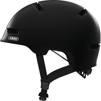 Capacete Bike Abus Scraper 3.0 Preto Fosco