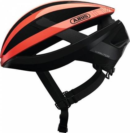 Capacete Bike Abus Viantor Laranja e Preto