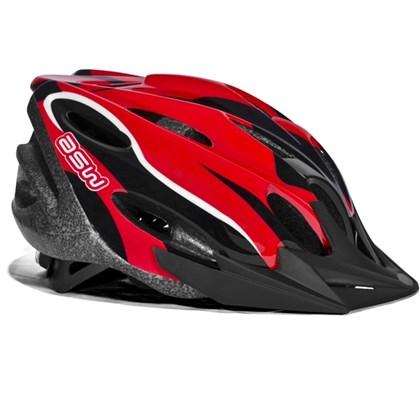 Capacete Bike ASW FUN Vermelho