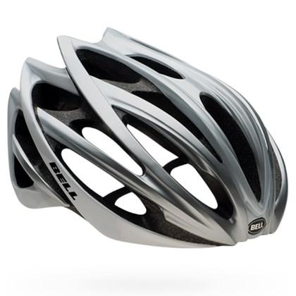 59e7ff966 Capacete Bike Bell Gage Mips Prata e Branco - Bike Plus