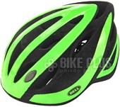 Capacete Bike Bell Impel Verde e Preto