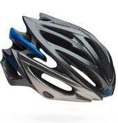 Capacete Bike Bell Volt RL-X Prata e Azul