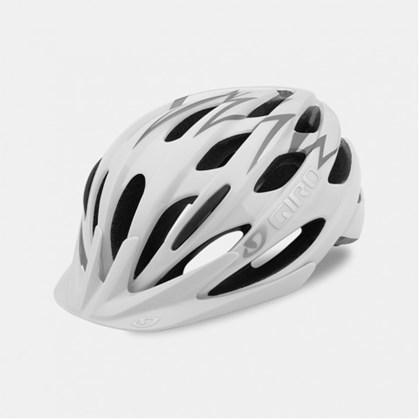 Capacete Bike Feminino Giro Raze Branco e Cinza