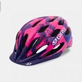 Capacete Bike Feminino Giro Raze Rosa Roxo e Azul