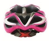 Capacete Bike Feminino High One IN SV85 Rosa Branco