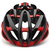 Capacete Bike Giro Atmos II Preto e Vermelho