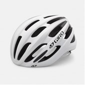 Capacete Bike Giro Foray Branco Fosco e Prata