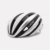Capacete Bike Giro Synthe Mips Branco e Prata