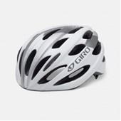 Capacete Bike Giro Trinity Branco e Prata