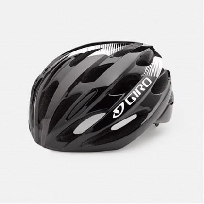 Capacete Bike Giro Trinity Preto e Branco