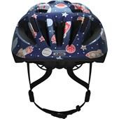 Capacete Bike Infantil Abus Smooty 2.0 Kids Azul Espaço Sideral