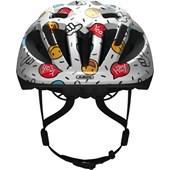 Capacete Bike Infantil Abus Smooty 2.0 Kids Branco Smiley