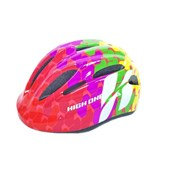 Capacete Bike Infantil High One Piccolo Colorido