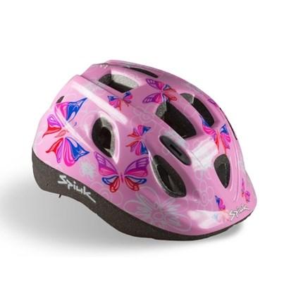 cfed83cb3 Capacete Bike Infantil Spiuk Kids Borboletas - Bike Plus