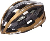 Capacete Bike Limar Speed Ultralight Footon Preto Dourado