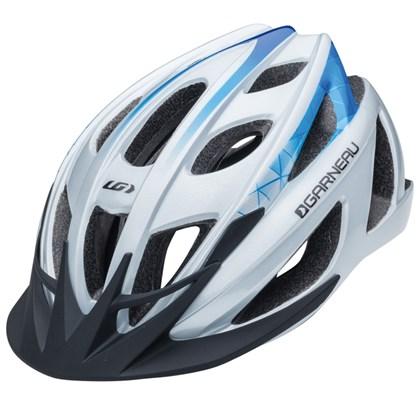 Capacete Bike Louis Garneau Le Tour Prata e Azul
