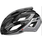 Capacete Bike Louis Garneau Sharp Preto e Cinza