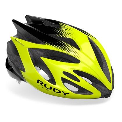 Capacete Bike Rudy Project Rush Amarelo Neon