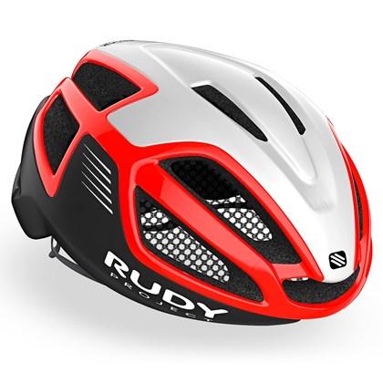 Capacete Bike Rudy Project Spectrum Vermelho e Branco