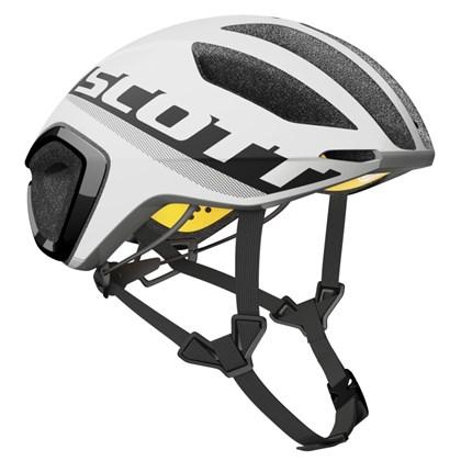 Capacete Bike Scott Cadence Plus Branco Fosco e Preto